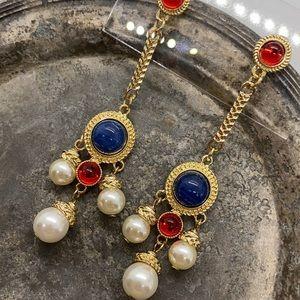 NEW Nautical Glam Statement Earrings